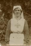 Rita Spence in VAD indoor nursing uniform