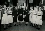 Group of VADs and Officers from Farnham Division, Surrey