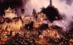 Artist's impression of the Battle of Solferino