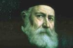 Portrait of Henry Dunant in old age