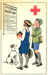 Colour postcard for the Junior Red Cross, December 1929