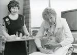 Black and white photograph of Beauty Care services in Northamptonshire
