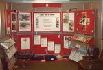 Colour photograph of a Red Cross display on First Aid