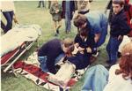 Colour photograph of First Aid training