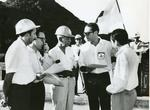 Black and white photograph for World Red Cross Day 1970