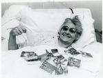Black and white photograph from Red Cross News June/July 1977