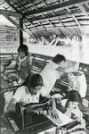 Black and white photograph for World Red Cross Day 1981 - Philippines Red Cross centre for out-of-school youths