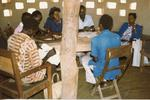 Colour photograph of Primary Health care in Uganda December 1981