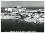 Black and white photograph of Akrotiri RAF Hospital, Cyprus