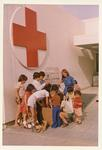 Colour photograph of a Red Cross children's home in Cyprus