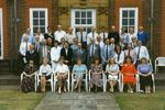 Colour photograph of a Red Cross Finance conference [at Barnett Hill]