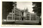 Postcard featuring an external view of the Royal Victoria Hospital Netley, Hampshire
