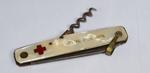 Pearl-handled penknife: 'Boulogne Sur Mer'