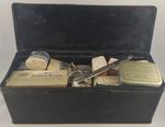 Rectangular First Aid tin with contents