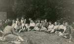 Photograph of the Cadet Camp at Hare Park