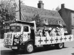 Photograph of the British Red Cross Float at the Soham Float Parade, 1963