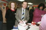 Four Photographs of the Opening of a Red Cross Shop in Huntingdon