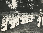 Photograph of Members of the Voluntary Aid Detachment at Trumpington Hall