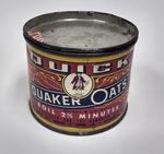 Tin of Quick Quaker Oats