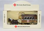 Limited edition model of a horse drawn ambulance as used in the Franco-Prussian War, 1870-1871