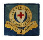 Embroidery made by a convalescing soldier